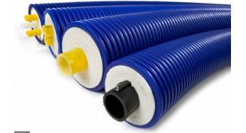 Трубы пластиковые предизолированные