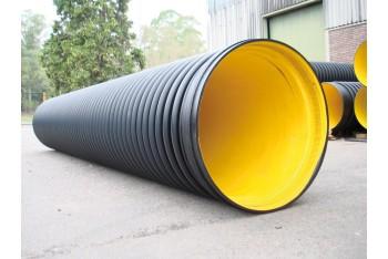 Полиэтиленовая спиральновитая труба для канализации