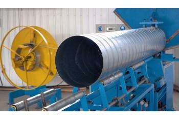 Воздуховоды из оцинкованной стали для систем вентиляции