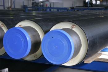 Стальная предварительно изолированная труба в ПЭ оболочке для подземной прокладки