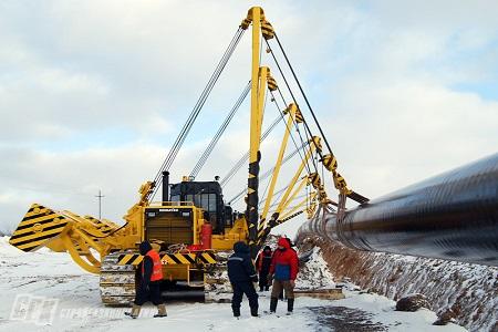 Строительство трубопроводов